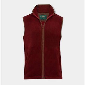 Alan Paine Mens Aylsham Fleece Waistcoat
