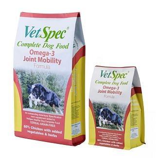VetSpec Omega-3 Joint Mobility Formula Dog Food - Cheshire, UK