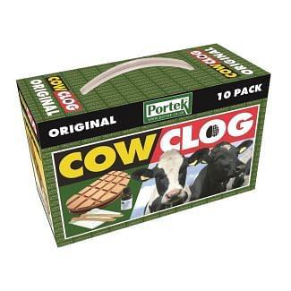 Portek Original Cow Clog Hoof Support 10 Pack - Cheshire, UK