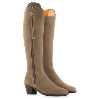 Fairfax & Favor Ladies Heeled Regina Suede Boots