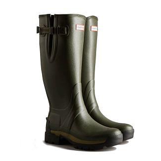 Hunter Mens Balmoral Side Adjustable Wellington Boots