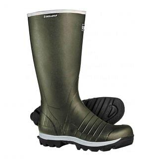 Skellerup Quatro Knee Wellington Boots Green