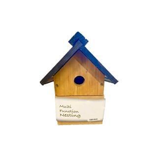 Red Barn Bird Nesting Box | Chelford Farm Supplies
