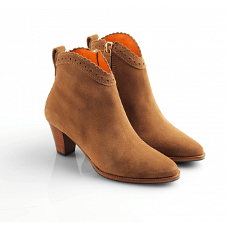 Fairfax & Favor Ladies Regina Suede Ankle Boot