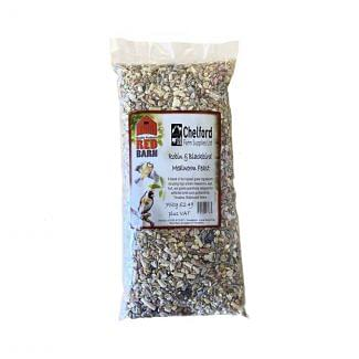 Red Barn Robin & Blackbird Mealworm Feast Bird Food 750g | Chelford Farm Supplies