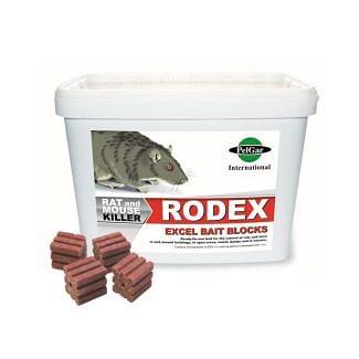 Rodex Excel Bait Blocks | Chelford Farm Supplies