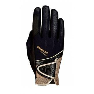 Roeckl London (Madrid) Riding Gloves Black / Gold