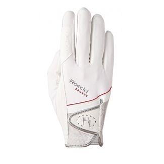 Roeckl London (Madrid) Riding Gloves White