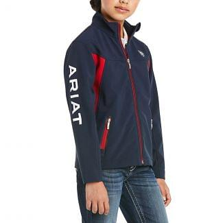 Ariat Youth New Team Softshell Jacket Navy