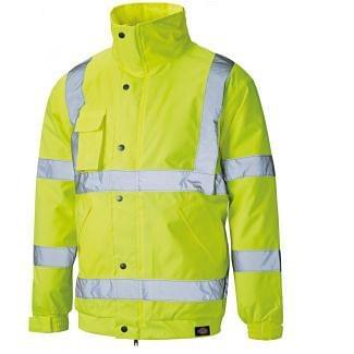 Dickies SA22050 Hi Vis Bomber Safety Jacket