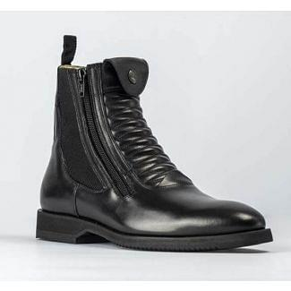 Secchiari Hera Ankle Jodhpur Boots Black