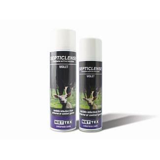 Nettex SeptiClense Spray Violet