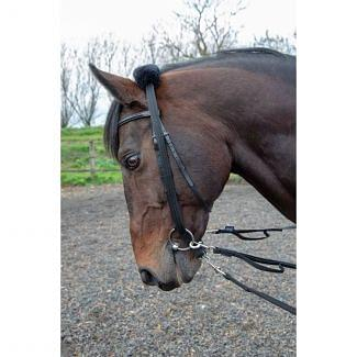 Shires Lunging Adapter Black | Chelford Farm Supplies