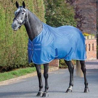 Shires Tempest Original Fleece/Mesh Cooler Rug Royal - Chelford Farm Supplies