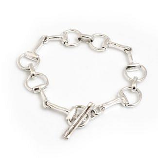 Hiho Silver Sterling Silver Snaffle Bracelet