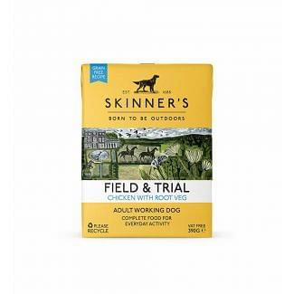 Skinners Field & Trial Chicken with Root Veg Dog Food 390g   Chelford Farm Supplies