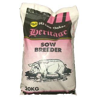 H J Lea Oakes Heritage Sow Breeder Nuts 20kg