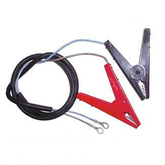 Rutland Battery Lead And Clip Ring Terminal
