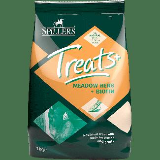 Spillers Meadow™ Herb + Biotin Horse Treats 1kg - Chelford Farm Supplies