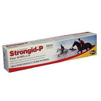 Strongid-P Paste Horsewormer - Chelford Farm Supplies