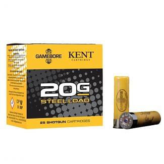 Gamebore Game and Wetland Super Steel 20 Gauge 24 Gram Plastic Shotgun Cartridge