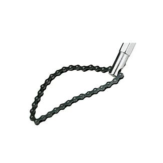 TengTools Oil Filter Wrench Chain Strap 120mm Cap 1/2'' Drive   Chelford Farm Supplies