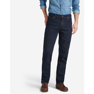 Wrangler Mens Texas Stretch Jeans Blue Black