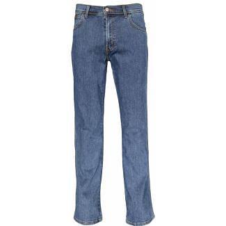 Wrangler Mens Texas Stretch Jeans Stonewash