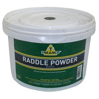 Trilanco Raddle Powder Black 2.5kg