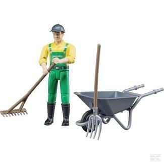 Bruder Farmer Figure Toy Set - Cheshire, UK
