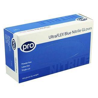 UltraFLEX Blue Nitrile Gloves 100 Pack | Chelford Farm Supplies