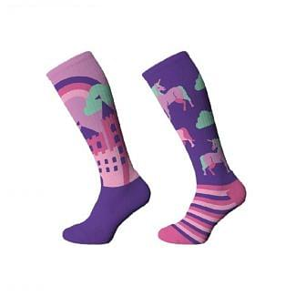 Comodo Kids Technical Novelty Riding Socks - Chelford Farm Supplies
