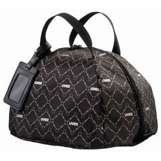 Uvex Riding Helmet Bag Black / Brown