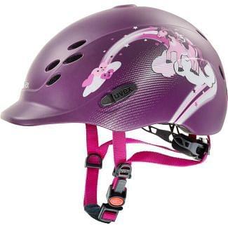 Uvex Onyxx Princess Riding Helmet - Chelford Farm Supplies