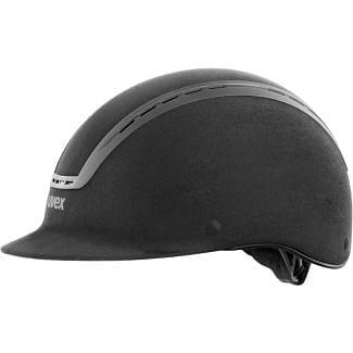 Uvex Suxxeed Velours Riding Helmet - Chelford Farm Supplies