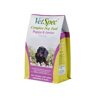 VetSpec Puppy and Junior Formula Dog Food