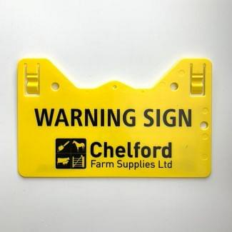 Rutland Electric Fencing Caution Warning Sign
