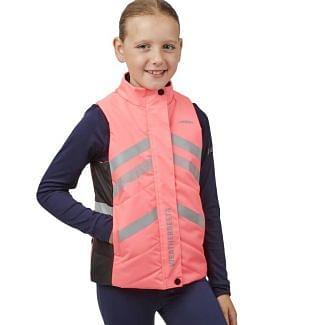 WeatherBeeta Children's HI-VIS Reflective Quilted Gilet | Chelford Farm Supplies