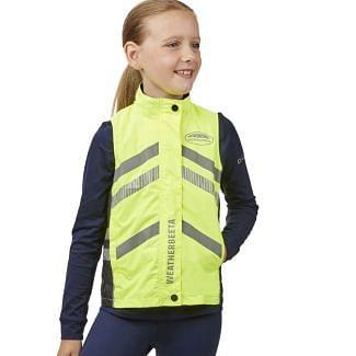 WeatherBeeta Children's Waterproof Lightweight Reflective HI VIS Vest | Chelford Farm Supplies