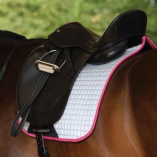 WeatherBeeta Reflective Prime Dressage Saddle Pad   Chelford Farm Supplies