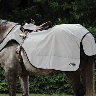 WeatherBeeta Reflective Wrap Around Exercise Sheet Silver/Black | Chelford Farm Supplies